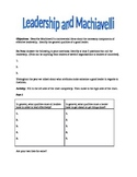 Leadership and Machiavelli