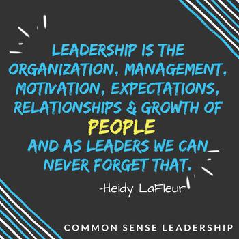 Leadership is... Printable Poster