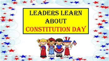 Leadership on Constitution Day!