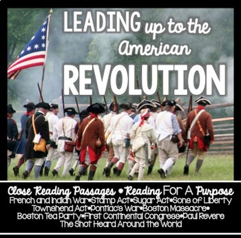 Leading Up to the American Revolution