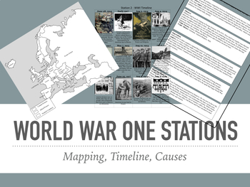 Leading up to World War One Stations