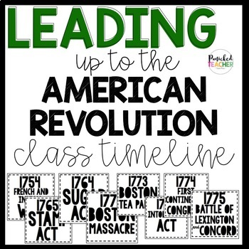 Leading up to the American Revolution CLASSROOM INTERACTIVE TIMELINE