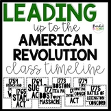 Leading up to the American Revolution CLASSROOM INTERACTIV