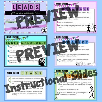 Leads- Narrative and Realistic Fiction