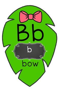 Leaf ABC sound Cards