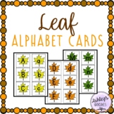 Leaf Alphabet Cards