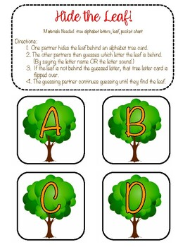 Leaf Alphabet Center