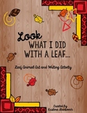 Leaf Animal Project and Writing Activity
