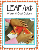 Leaf Art with Warm & Cool Colors