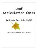 Leaf Articulation Cards