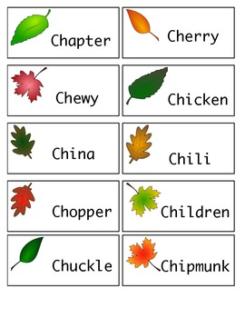Leaf Articulation Cards