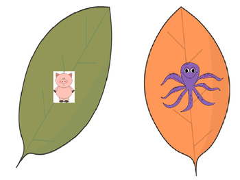 Leaf Beginning Sound Game