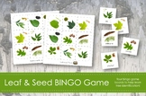Leaf Bingo Game- Montessori- Leaf and Tree Identification