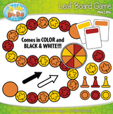 Leaf Build A Board Game Clipart {Zip-A-Dee-Doo-Dah Designs}