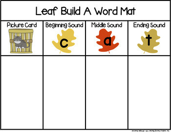 Leaf Build a Word Phonics Game