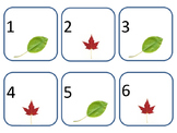 Leaf Calendar Pieces