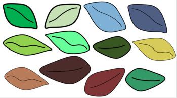 Leaf Clip Art Bundle