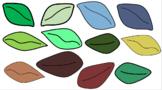 Leaf Clip Art (color)