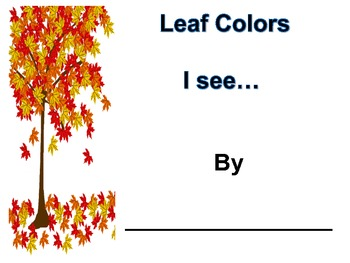 Leaf Colors (I see...)