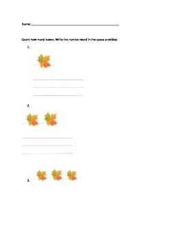 Leaf Count and Write