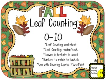 Leaf Counting Activities 1-10
