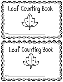 Leaf Counting Book
