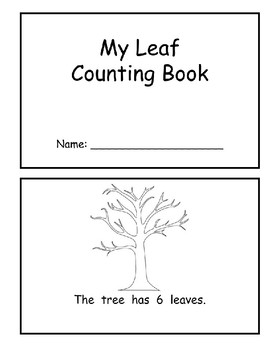 Leaf Counting Book (Numbers 6-10)