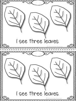 Counting Leaves Emergent Reader