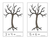 Leaf Counting Math Addition Book