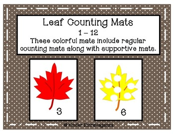 Leaf Counting Mats with Supportive Counting Mats