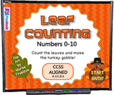 Leaf Counting Smart Board Game - FREE