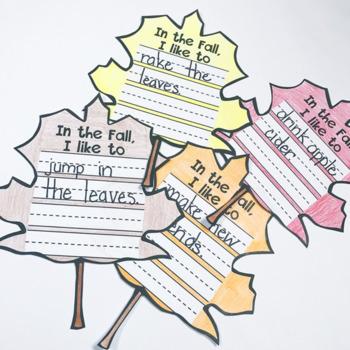 Fall Writing Craft