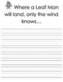 Leaf Creative Writing Teaching Packet - Grades K-4