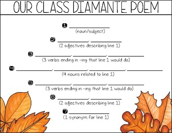 Leaf Creatures - Fall Poetry, Craft and I Spy Game
