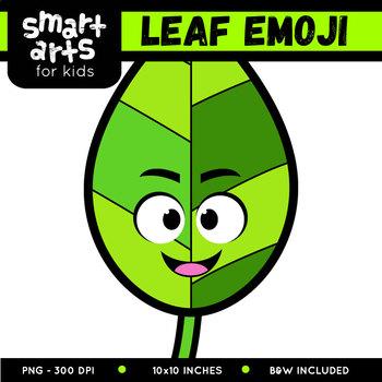 Leaf Emoji Clip Art