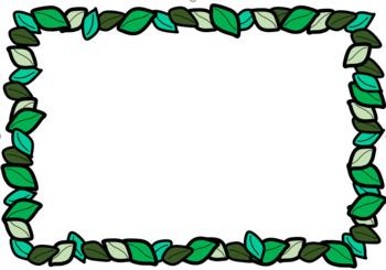 Leaf Frame Clip Art