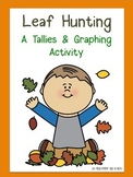 Leaf Hunting {Tallies & Graphing}