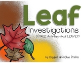 Leaf Investigation Freebie
