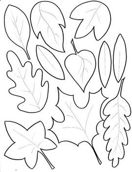 Leaf Jumpers Craftivity