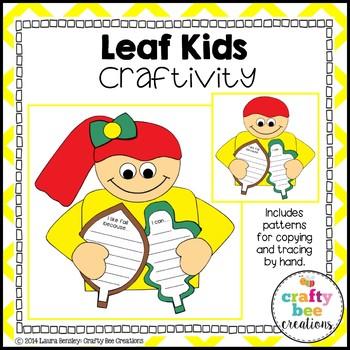 Leaf Kids Craftivity
