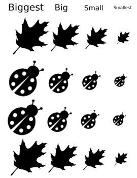 Leaf & Ladybug File Folder Game
