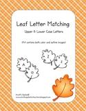 Leaf Letter Matching (Upper & Lower Case)