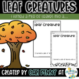 Leaf Man & Leaf Creatures