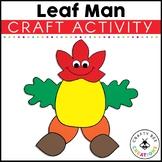 Leaf Man Cut and Paste