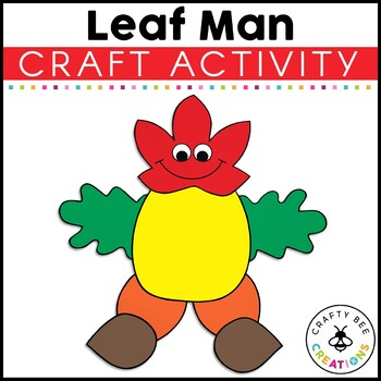 Leaf Man Cut and Paste