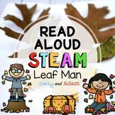 Leaf Man Fall Read Aloud STEAM Activity