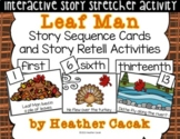 Leaf Man Story Sequence and Retell Activities