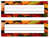 Leaf Name Tags / Labels
