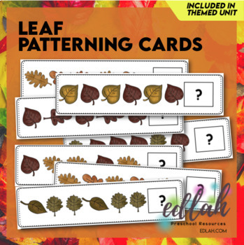 Leaf Patterning Cards