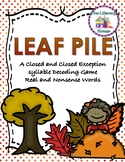 Leaf Pile: A Closed and Closed Exception Decoding Game